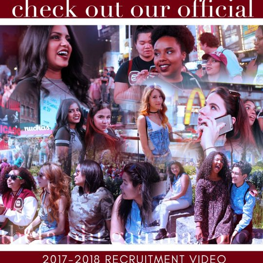 Find Your Home With Theta Phi Gamma Sorority (Recruitment Video)